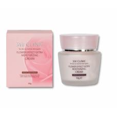 Крем для лица   УВЛАЖНЕНИЕ   Flower Effect Extra Moisture Cream   50g 3W CLINIC