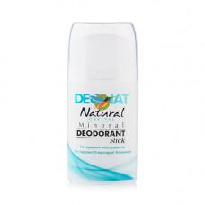Минеральный дезодорант   ЧИСТЫЙ ЦЕЛЬНЫЙ    овальный кристалл   100g DeoNat