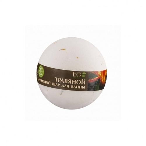 Бурлящий шар для ванны  ПРИМУЛА И ЗЕЛЁНЫЙ ЧАЙ  EcoLab 220 гр