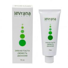 Зубная паста  СВЕЖЕСТЬ ДЫХАНИЯ  75 ml Levrana