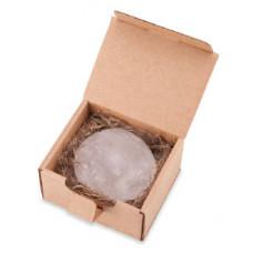 Натуральный кристаллический дезодорант   АЛУНИТ   произвольной натуральной формы в подарочной эко-коробке  DeoStone 55 g
